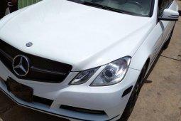 Naija Used 2012 Mercedes-Benz E350 for sale