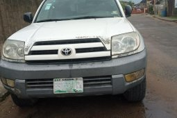 Naija Used Toyota 4-Runner 2003 Model