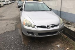 Foreign Used 2006 Honda Accord for sale in Lagos.