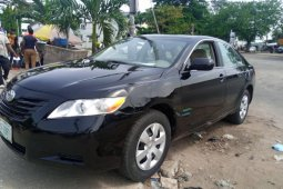 Used 2008 Black Toyota Camry for sale in Lagos.