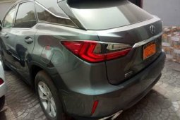Foreign Used Lexus RX 2018 Model Gray