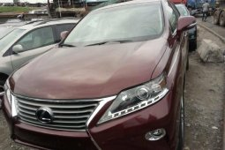 Foreign Lexus RX 2015 Model for sale