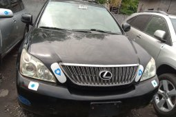 Foreign Used Lexus RX 2005 Mode Black