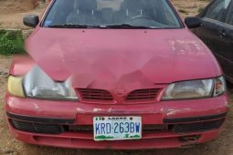 Nigeria Used Nissan Almera 1998 Model Red