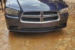 Foreign Used Dodge Charger 2012 Model Blue