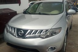 Foreign Used 2009 Silver Nissan Murano for sale in Lagos.