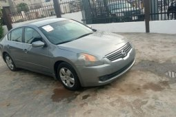 Foreign Used 2005 Silver Nissan Altima for sale in Lagos.
