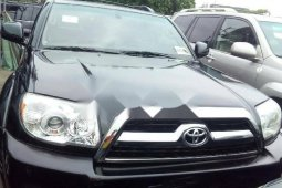 Foreign Used 2007 Black Toyota 4-Runner for sale in Lagos.