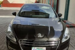 Nigeria Used Peugeot 508 2014 Model Gray