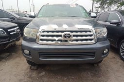 Foreign Used Toyota Sequoia 2010 Model Gray