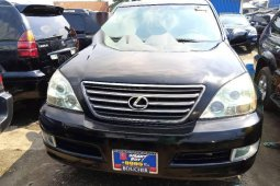 Foreign Used 2008 Lexus GX for sale