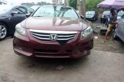 Foreign Used Honda Accord 2012 Model Red
