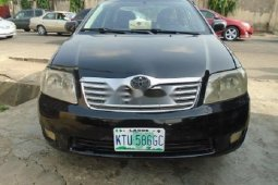 Nigeria Used Toyota Corolla 2005 Model Black