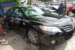 Foreign Used 2008 Black Toyota Camry for sale in Lagos.