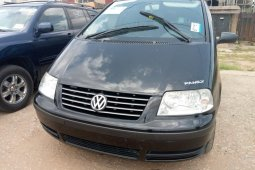 Foreign Used Volkswagen Sharan 2003 Model Black