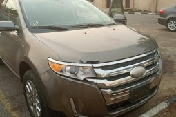 Foreign Used Ford Edge 2013 Model Gold