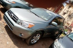 Foreign Used 2008 Green Toyota RAV4 for sale in Lagos.