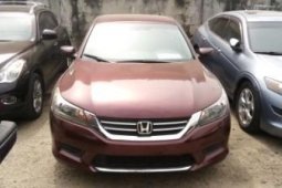 Foreign Used Honda Accord 2015 Model Red