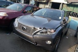 Foreign Used 2015 Grey Lexus RX for sale in Lagos.