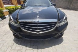 Foreign Used 2014 Mercedes-Benz E350 for sale in Lagos.