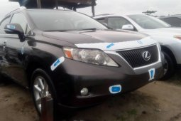 Foreign Used 2011 Black Lexus RX for sale in Lagos.