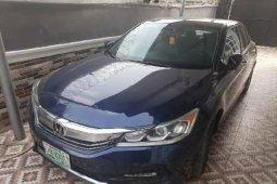 Nigeria Used Honda Accord 2016 Model Blue