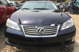 Foreign Used Lexus ES 2010 Model Black