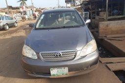 Nigeria Used Toyota Corolla 2006 Model Gray