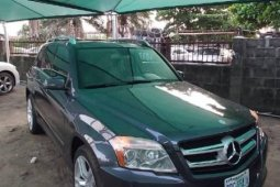 Nigeria Used Mercedes-Benz GLK 2012 Model Gray