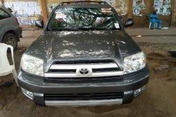 Foreign Used Toyota 4-Runner 2004 Model Gray
