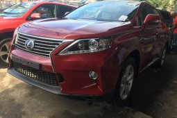 Foreign Used Lexus RX 2013 Model Red