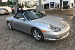 Foreign Used 2003 Silver Porsche 718 Boxster for sale in Ibadan.