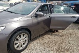 Foreign Used 2015 Grey Toyota Camry for sale in Lagos.