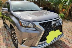 Nigeria Used Lexus GX 2012 Model Gray