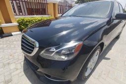 Clean Naija Used 2014 Mercedes-Benz E350 for sale