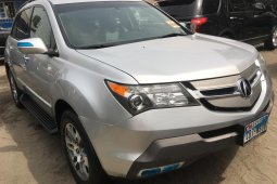 Foreign Used Acura MDX 2008 Model Silver