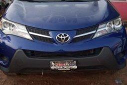 Nigeria Used Toyota RAV4 2016 Model Blue