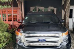 Foreign Used Ford Explorer 2014 black for sale