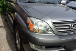 Foreign Used 2007 Grey Lexus GX for sale in Lagos.