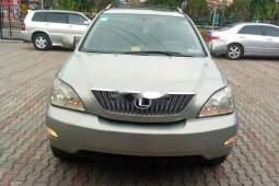Nigeria Used Lexus RX 2008 Model Silver