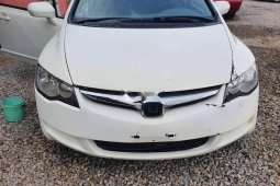 Nigeria Used Honda Civic 2007 Model White