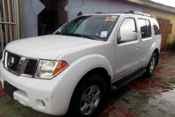 Foreign Used Nissan Pathfinder 2006 Model White