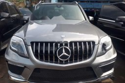 Tokunbo Mercedes-Benz GLK 2013 Model Silver