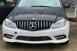 Nigeria Used Mercedes-Benz C300 2009 Model Black