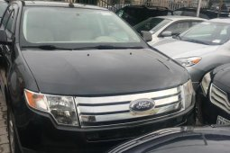 Foreign Used 2008 Black Ford Edge for sale in Lagos.