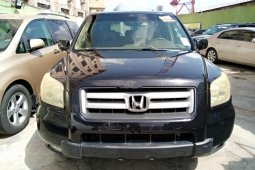 Foreign Used Honda Pilot 2006 Model Black