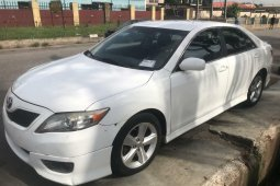 Foreign Used Toyota Camry 2010 Model White