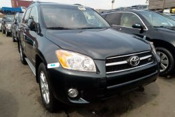 Foreign Used 2010 Dark Green Toyota RAV4 for sale in Lagos.