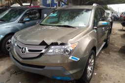 Foreign Used Honda Acura MDX 2008 Model Brown