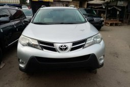 Foreign Used Toyota RAV4 2014 Model Silver